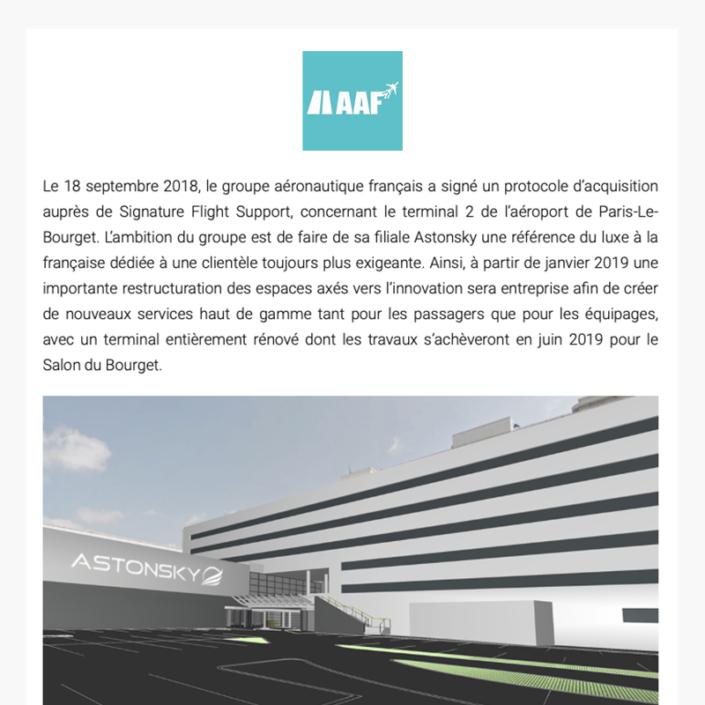 Clair Group achète le terminal 2 de Paris Le Bourget