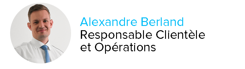 Alexandre Berland Responsable Clientèle et Opérations Astonfly