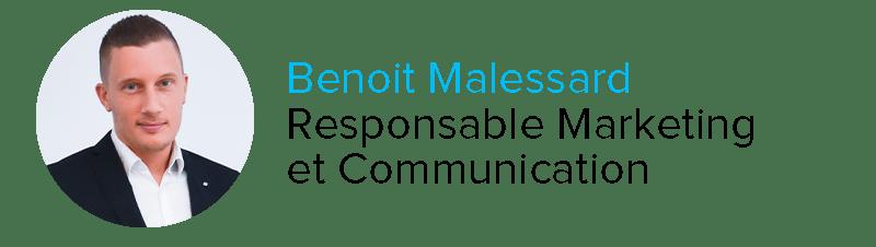 Benoit Malessard Responsable Marketing et communication Clair Group