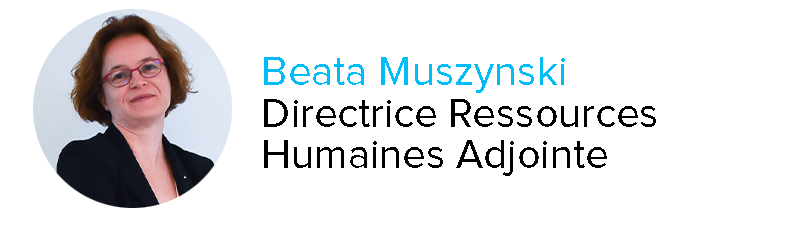Beata Muszynski Directrice Ressources Humaines Adjointe Clair Group