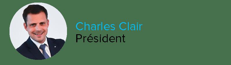 Charles Clair Président