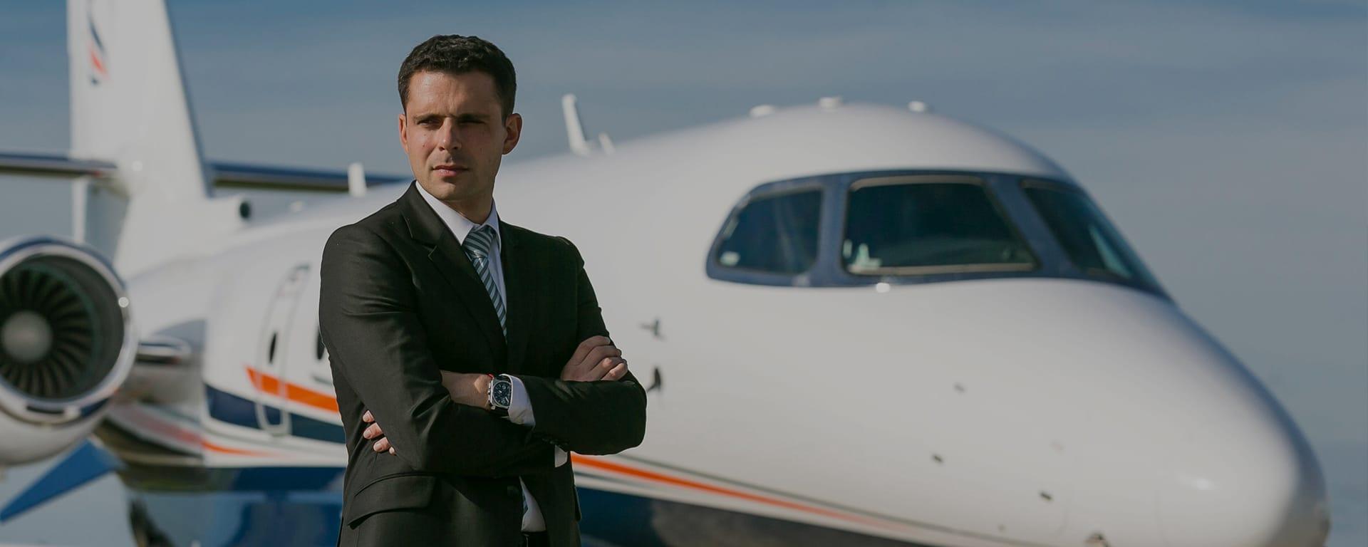Charles CLAIR, président d'un groupe aéronautique en pleine croissance