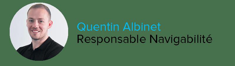 Quentin Albinet Responsable Navigabilité Astontec