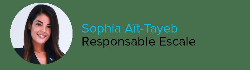 Sophia Aït-Tayeb Responsable Escale Astonsky