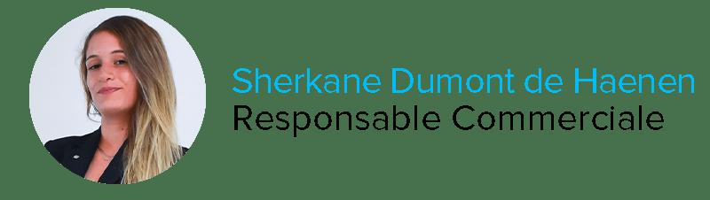 Sherkane Dumont de Haenen Responsable Commerciale Astonsky