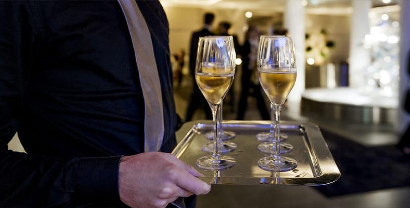 Offre d'emploi au sein du terminal Astonsky : serveur bar lounge
