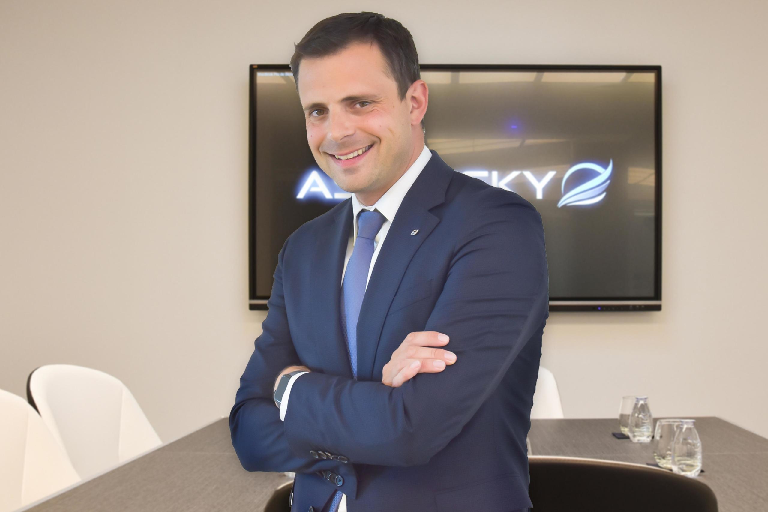 Charles Clair, actionnaire du groupe aéronautique français Clair Group