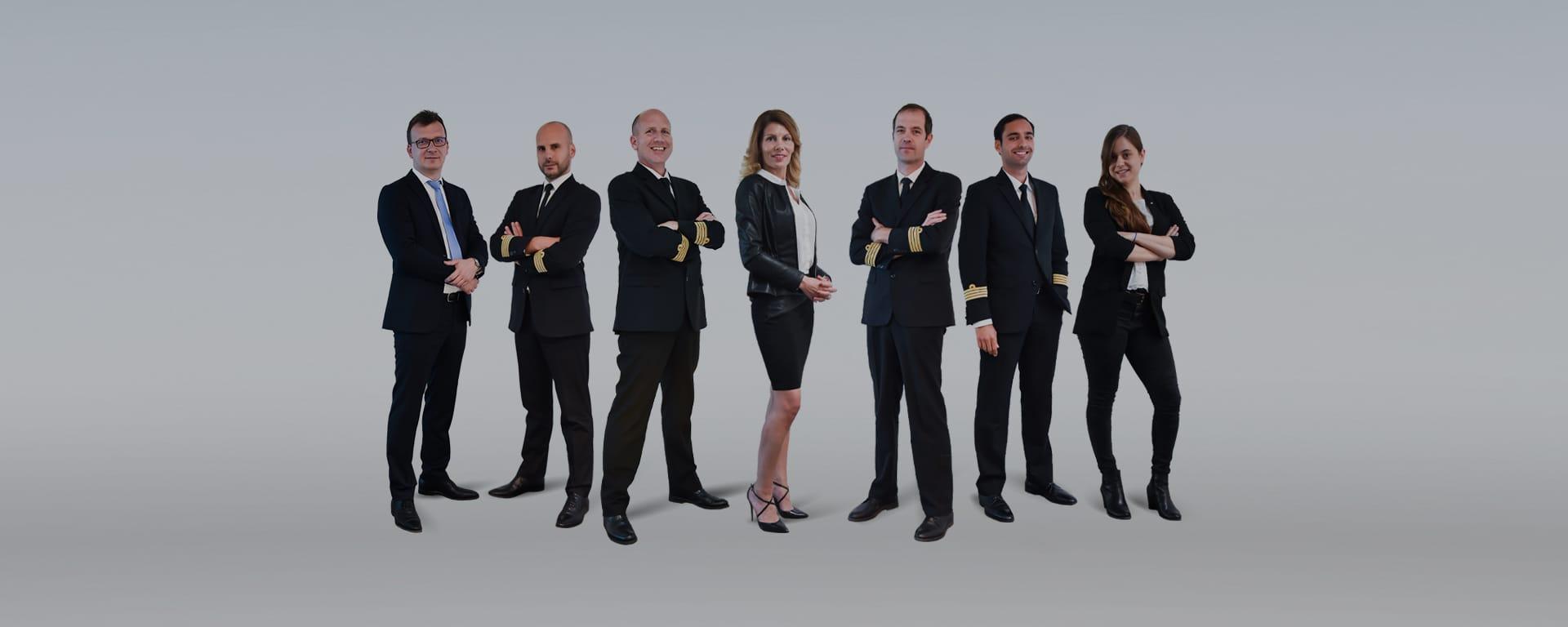 L'équipe de direction Astonjet