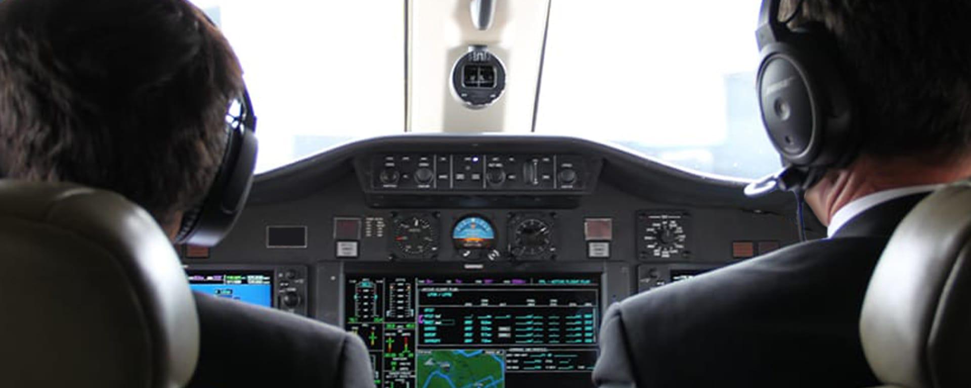 Astonjet, compagnie aérienne privée appartenant à Clair Group