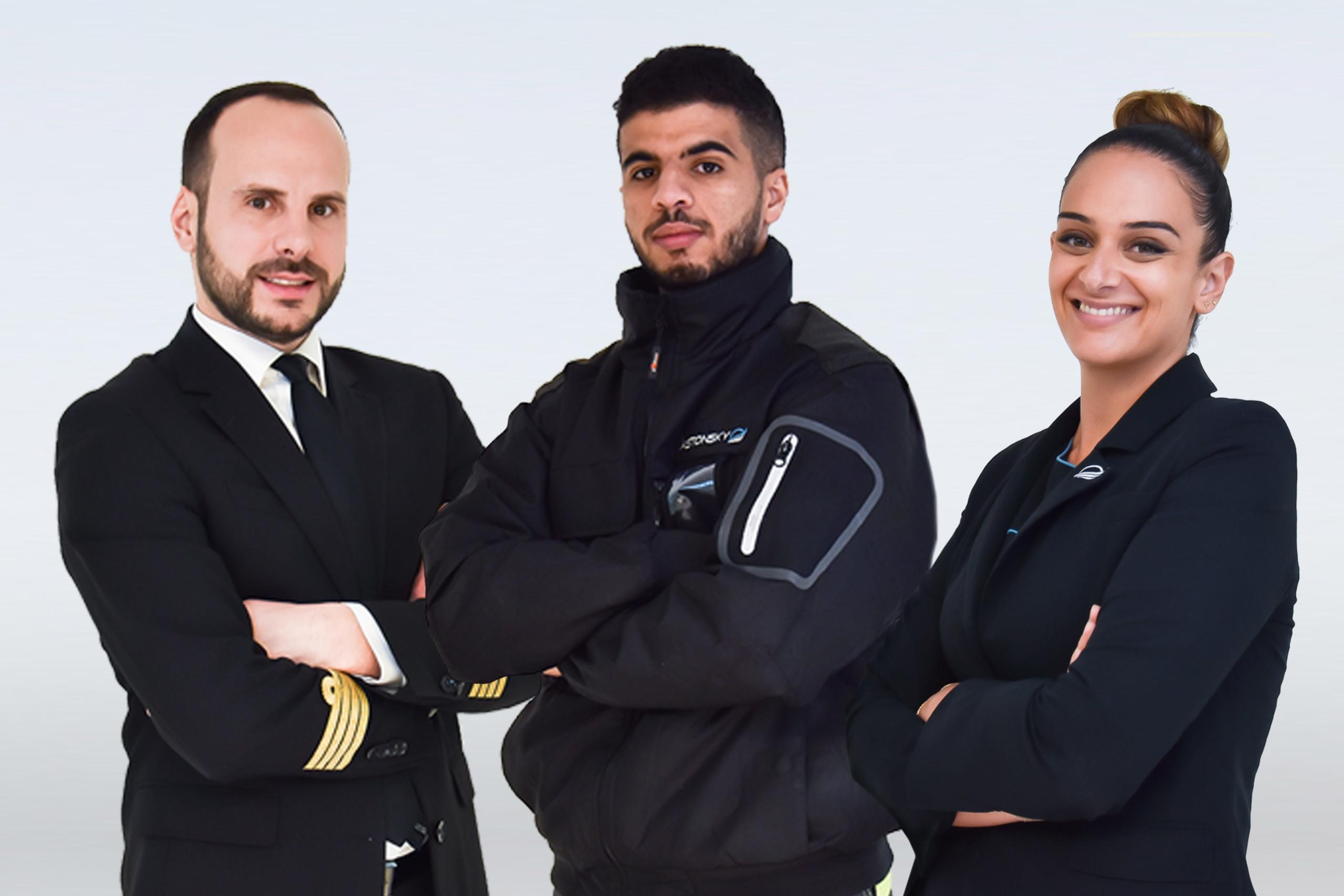 Recrutement de pilotes, agent de piste, agent d'escale, mécanicien aéronautique