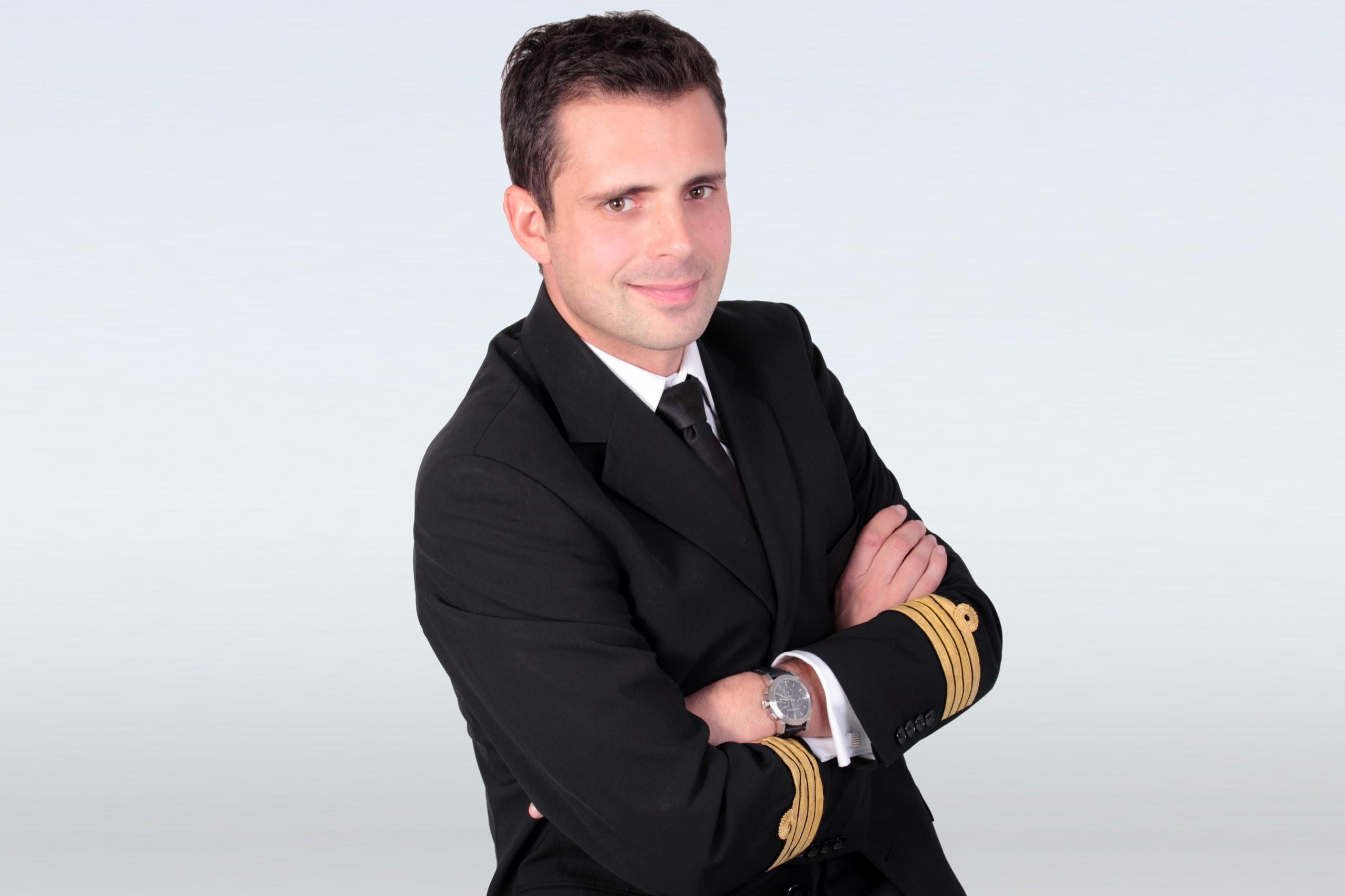 Charles Clair, pilote et fondateur de Clair Group, groupe aéronautique français