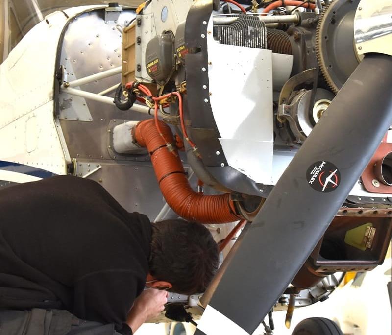 Centre de maintenance Astontec pour avions - Toussus le Noble