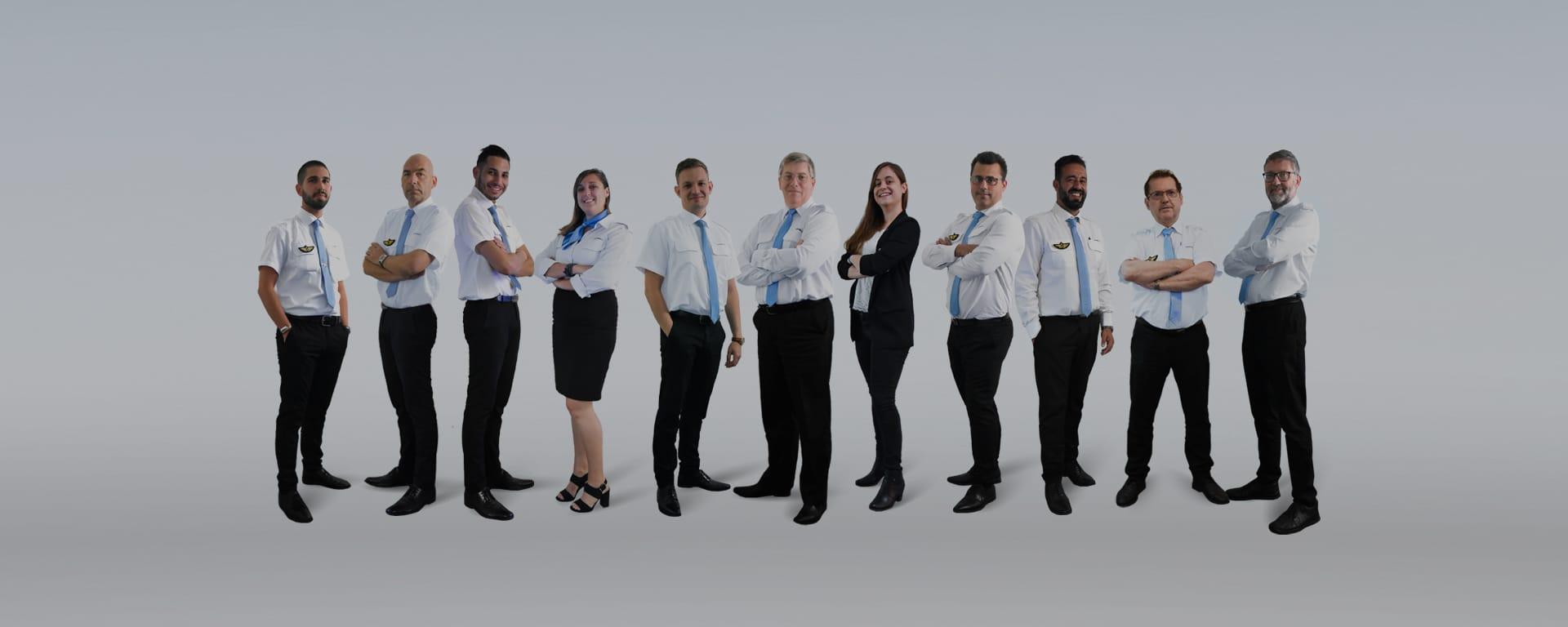 L'équipe de direction Astonfly