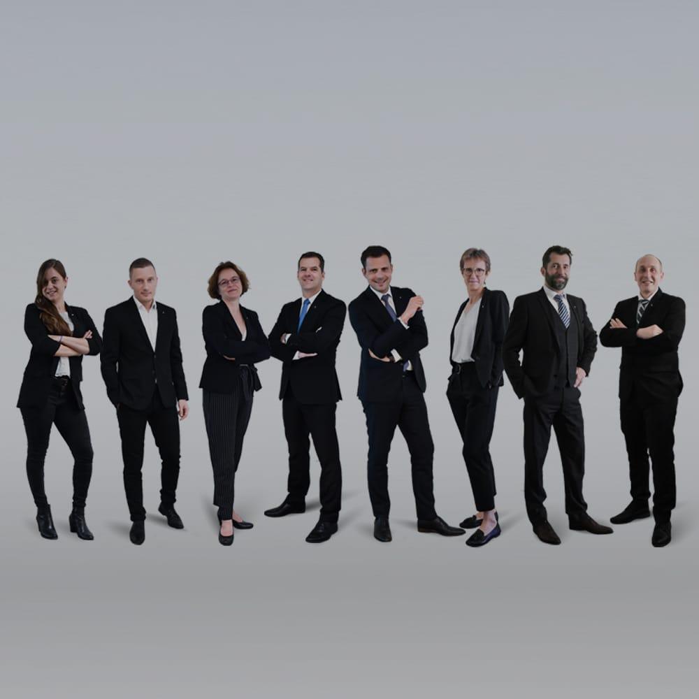 L'équipe de direction Clair Group