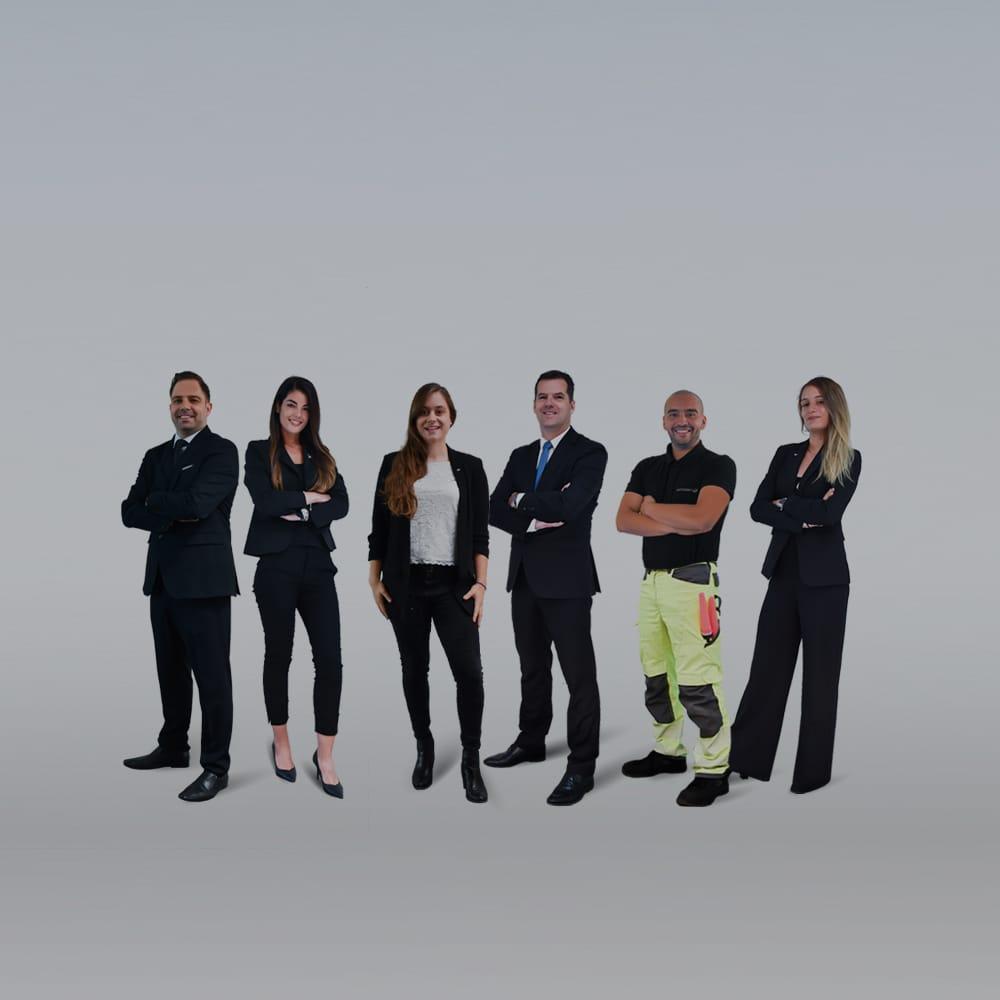 L'équipe de direction Astonsky